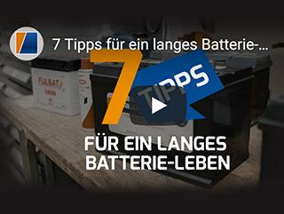 Tipps für ein langes Batterie-Leben